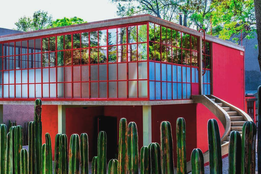 Frida and Diego's house and studio in Mexico City