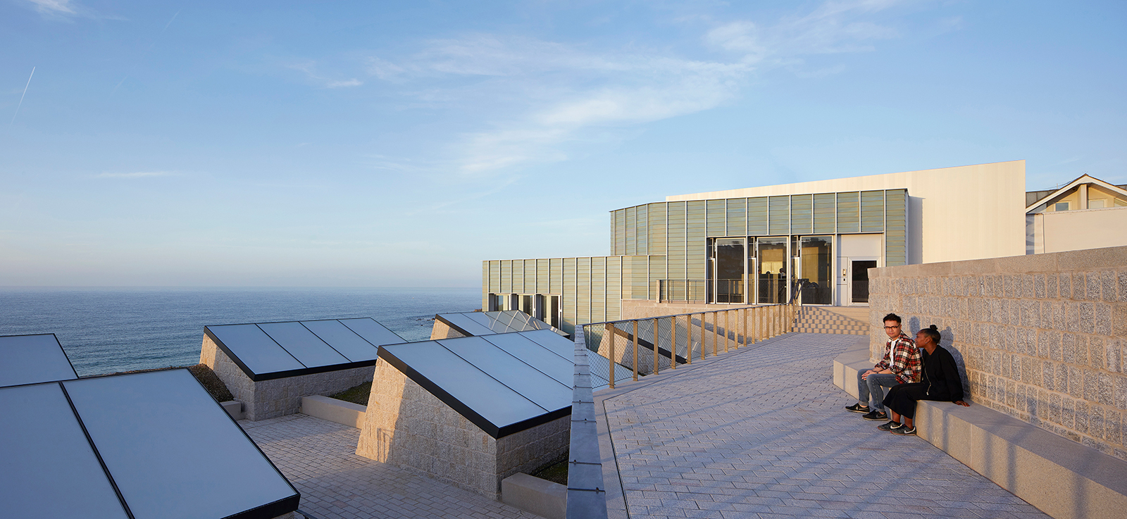 Tate St Ives extension by Jamie Fobert Architects. Photography: Dennis Gilbert