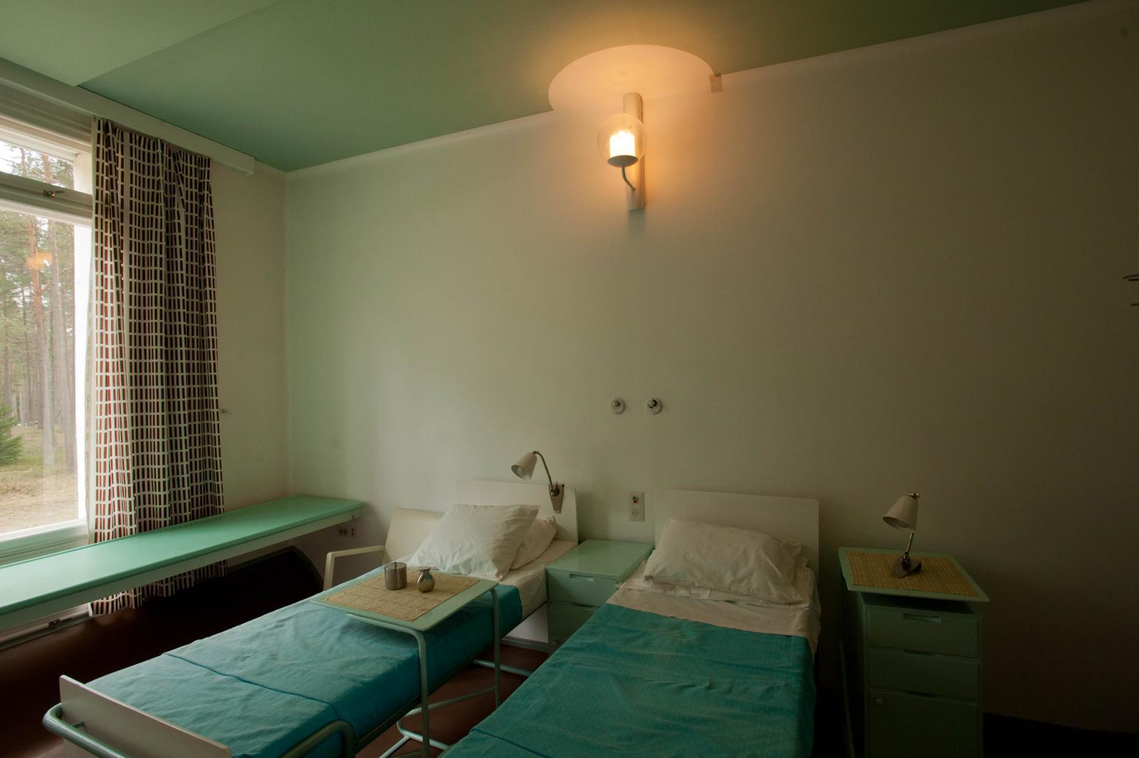 Alvar Aalto's famous Finnish sanatorium is for sale