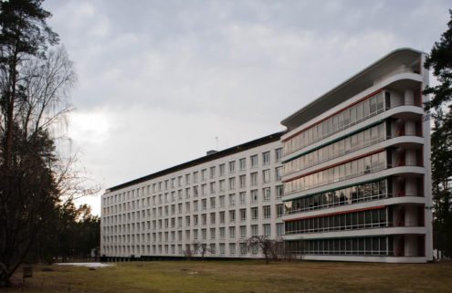 Alvar Aalto's famous Finnish sanatorium is for sale
