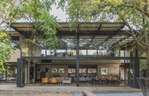 Property of the week: an architect's concrete sanctuary in Gauteng, South Africa