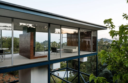 Midcentury glass house by Craig Ellwood hits the market in LA for $3m