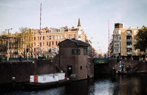 Amsterdam's bridge houses are now tiny hotels