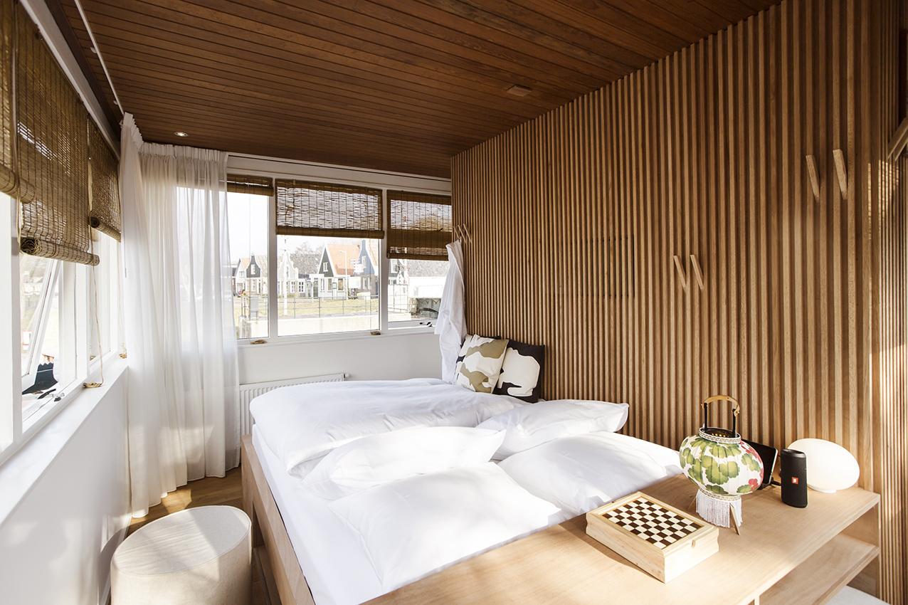 Amsterdam's bridge houses are now tiny hotels