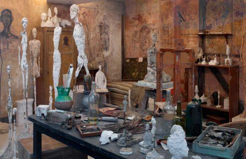 Alberto Giacometti's studio comes to life in Paris