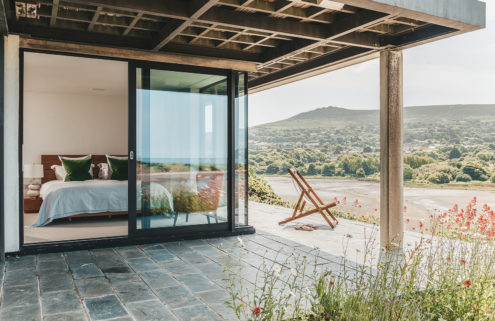 Holiday home of the week: an award-winning retreat on the Welsh coast