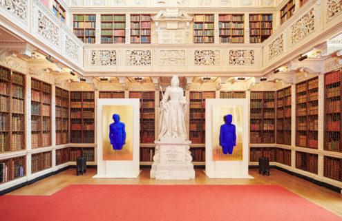 50 dazzling Yves Klein artworks arrive at Blenheim Palace