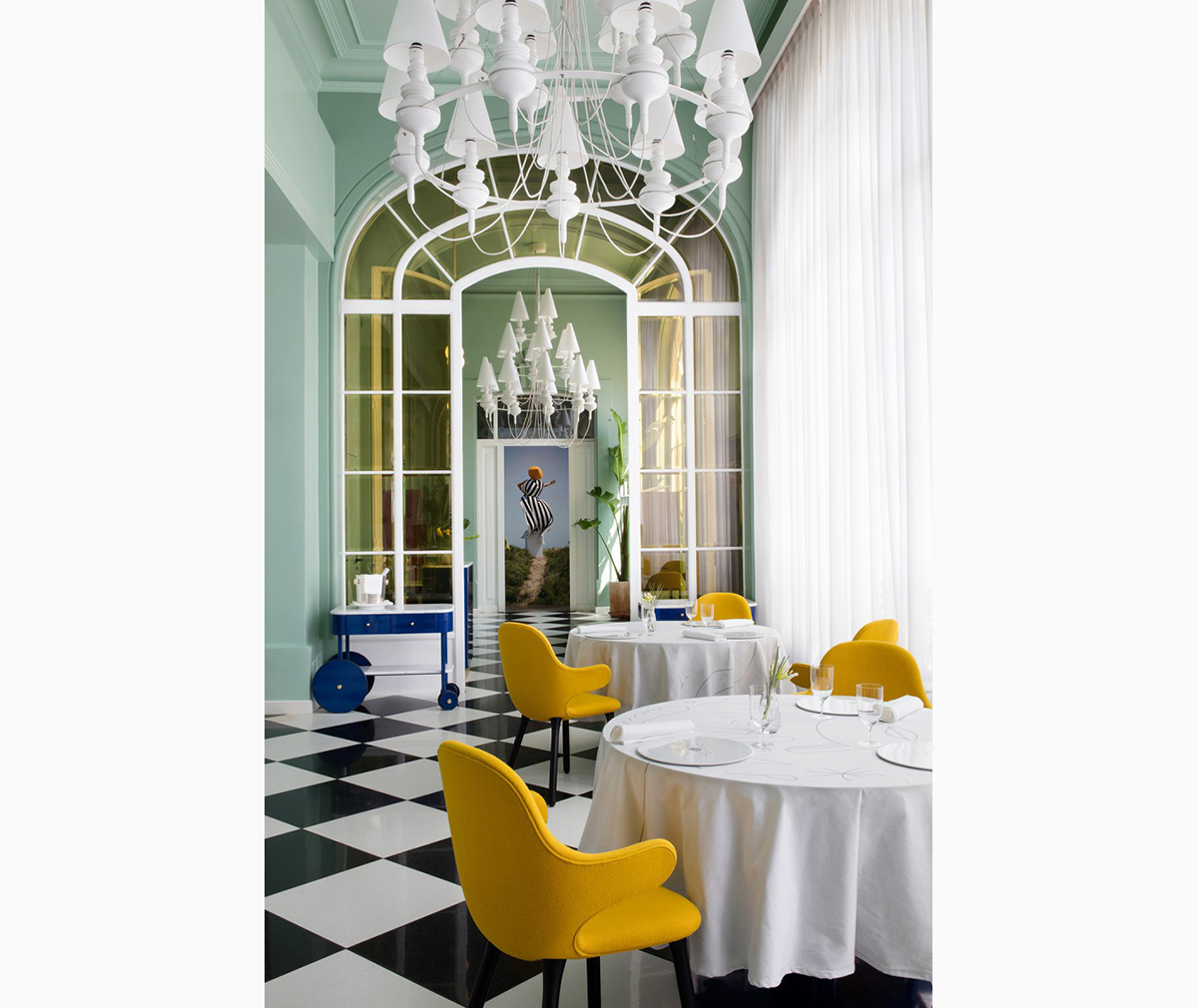 Jaime Hayón gives Madrid's La Terraza del Casino restaurant a playful refresh