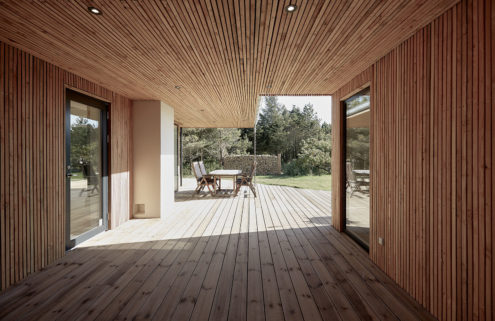 Holiday home of the week: a wooden coastal retreat in Denmark's Jutland