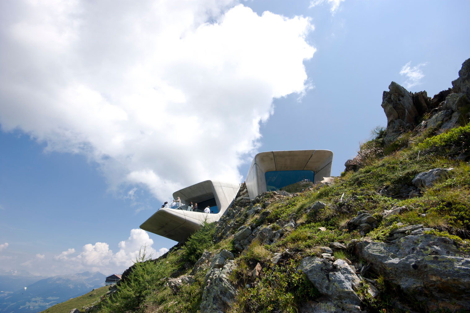 Zaha Hadid's Messner Mountain Museum