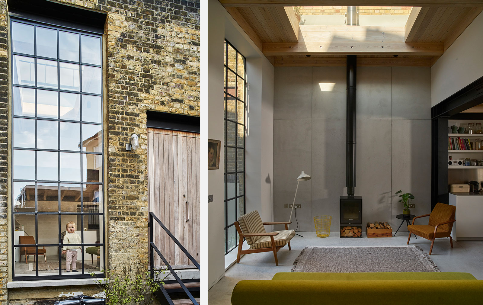 A former gin distillery, now a two-bedroom home
