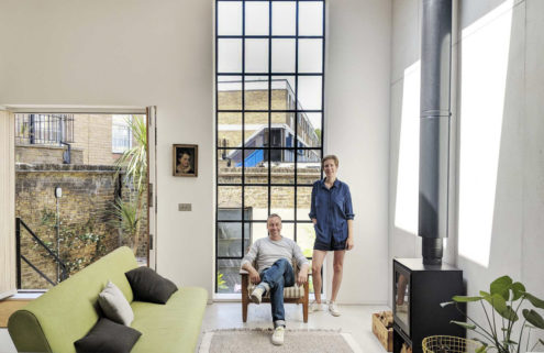 How we live: architect Rupert Scott and coworking entrepreneur Leo Wood