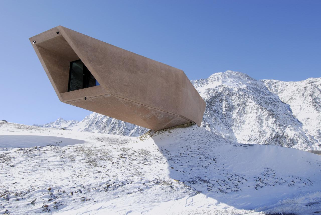 The Pass Museum at Timmelsjoch, Tyrol, Austria