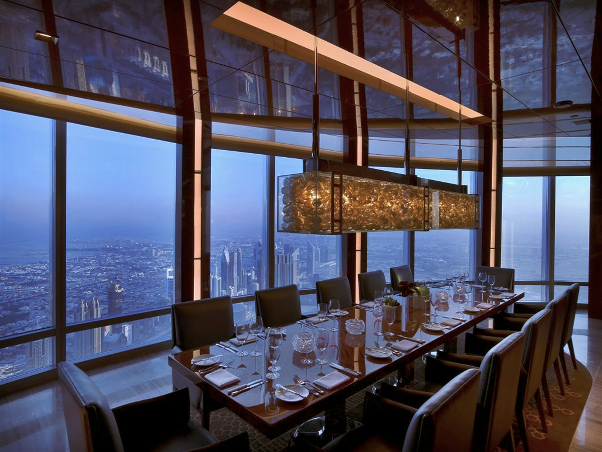 At.mosphere Dubai, world's highest restaurant