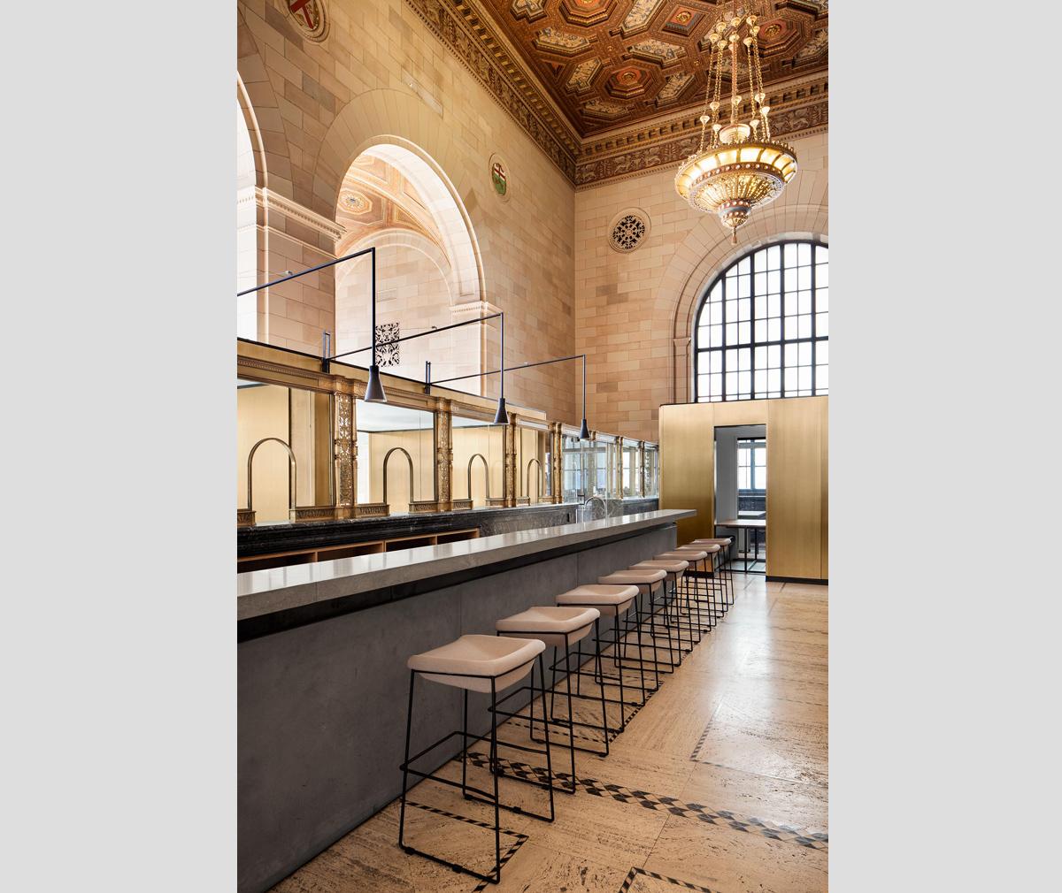 Crew Collective Café - Montreal restaurants for design lovers
