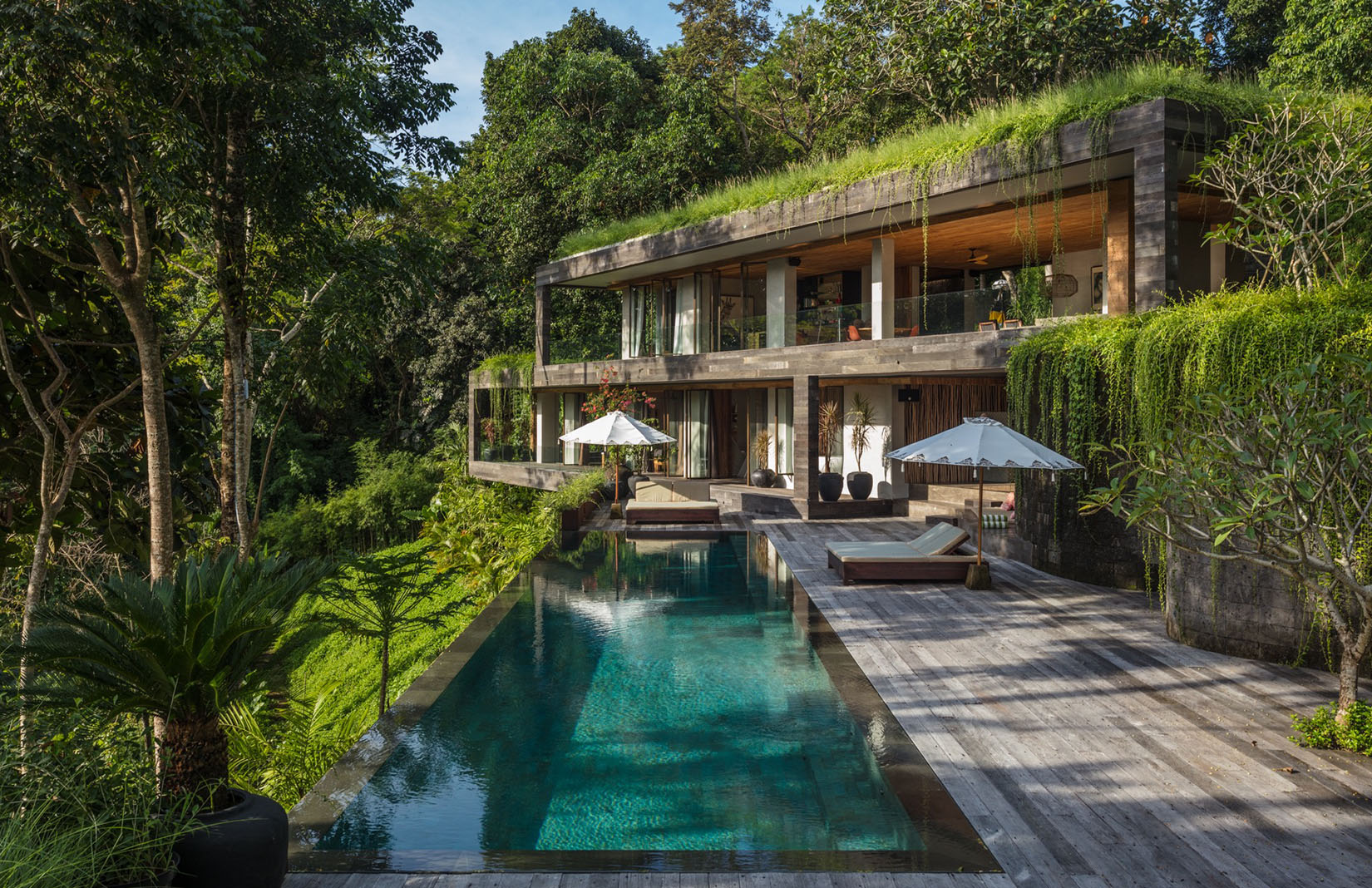 Holiday Home Of The Week A Brutalist Bali Villa That Blends With Its Surrounds