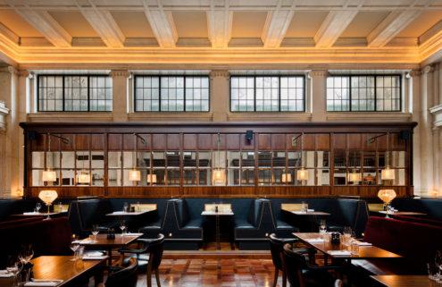 Hawksmoor opens a restaurant in an Edinburgh banking hall