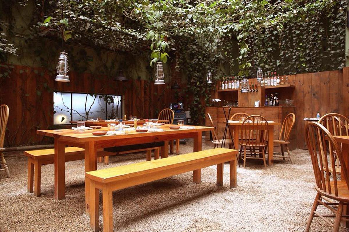 Huset restaurant Mexico City