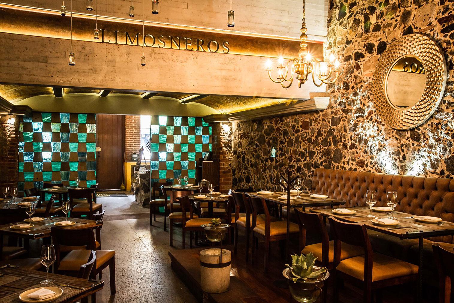 Mexico City restaurant Limosneros