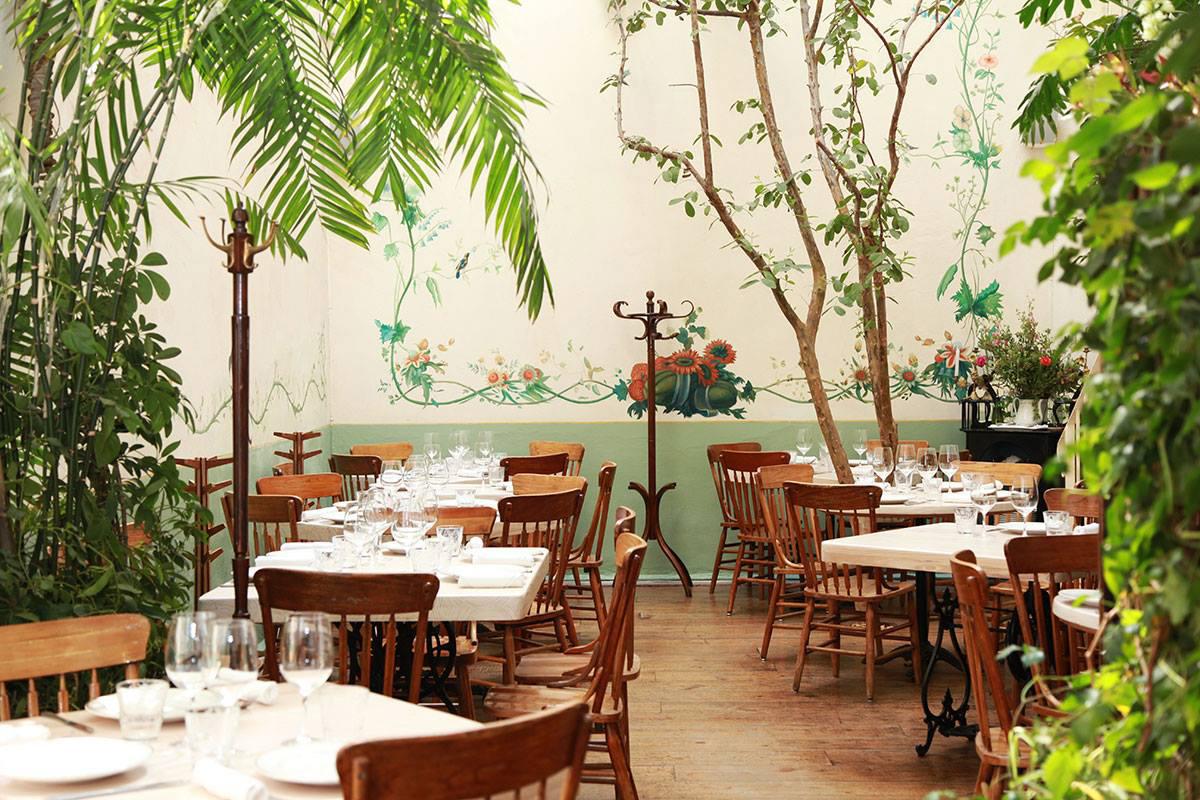 Rosetta restaurant Mexico City