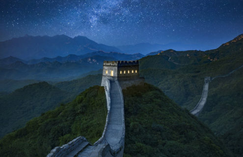 Sleep on the Great Wall of China via Airbnb