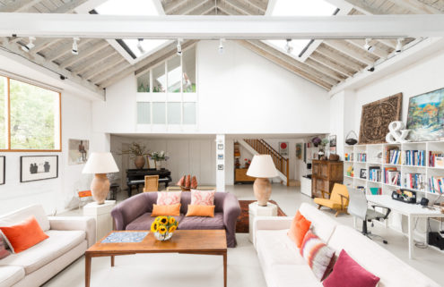Hidden London home by Hiscox Parlade Architects lists for £2.3m