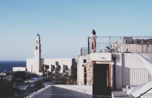 Japanese spa Yoko Kitahara springs up in Israel's Jaffa