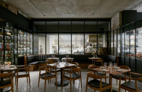 Le Monarque restaurant in Montreal. Photography: James Brittain