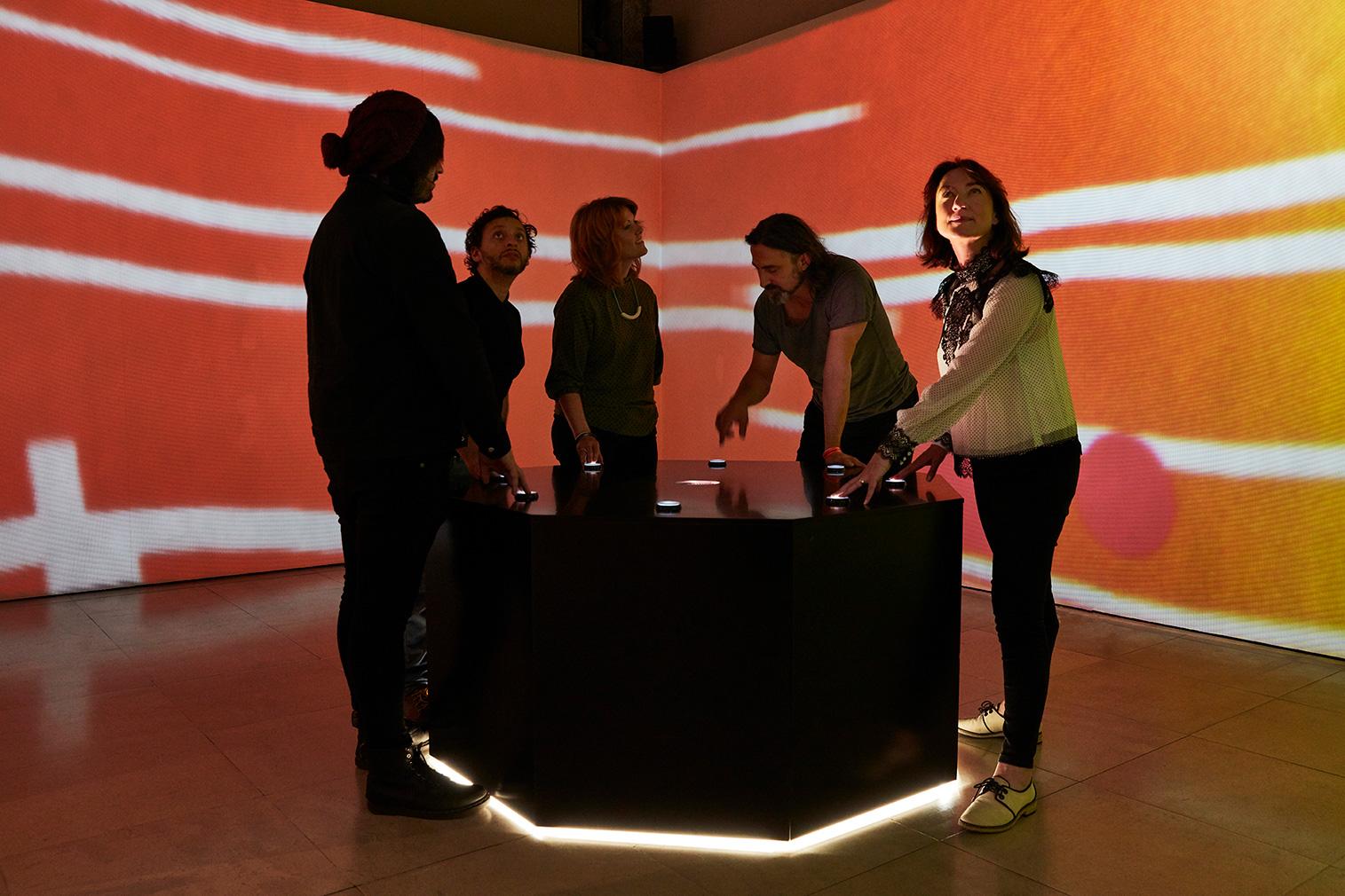 Dundee pavilion at London Design Biennale 2018
