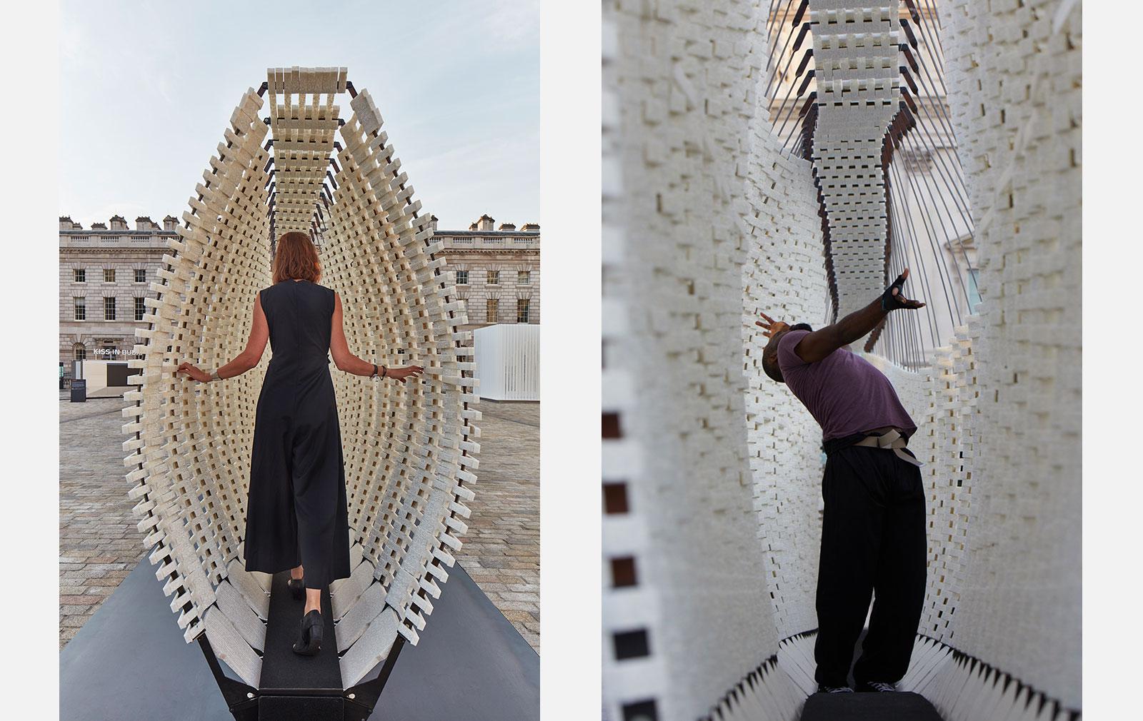 Greek pavilion at the London Design Biennale