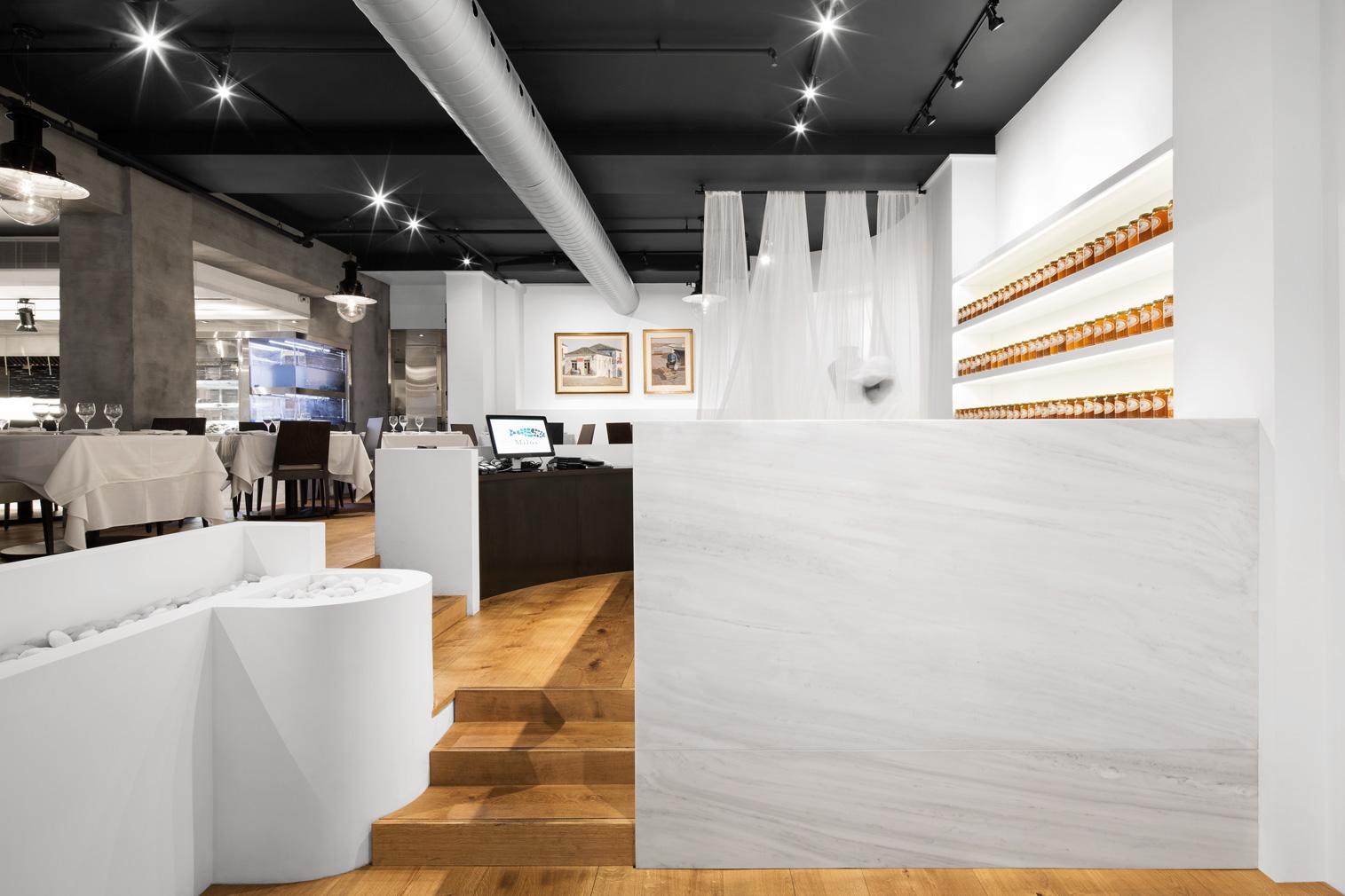 Milos restaurant in Montreal