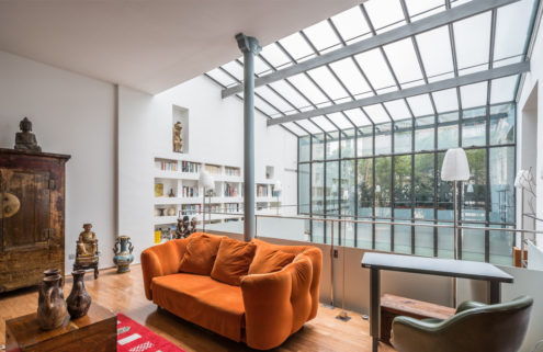 Property of the week: a converted wallpaper factory in Paris