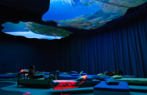 Pipilotti Rist's London art installation '4th Floor To Mildness,'