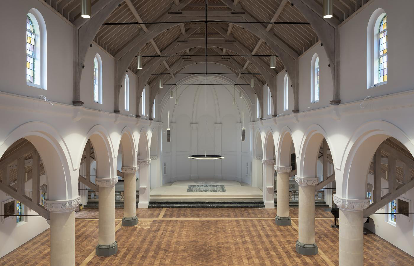 St Augustines Church, refurbished by Roz Barr