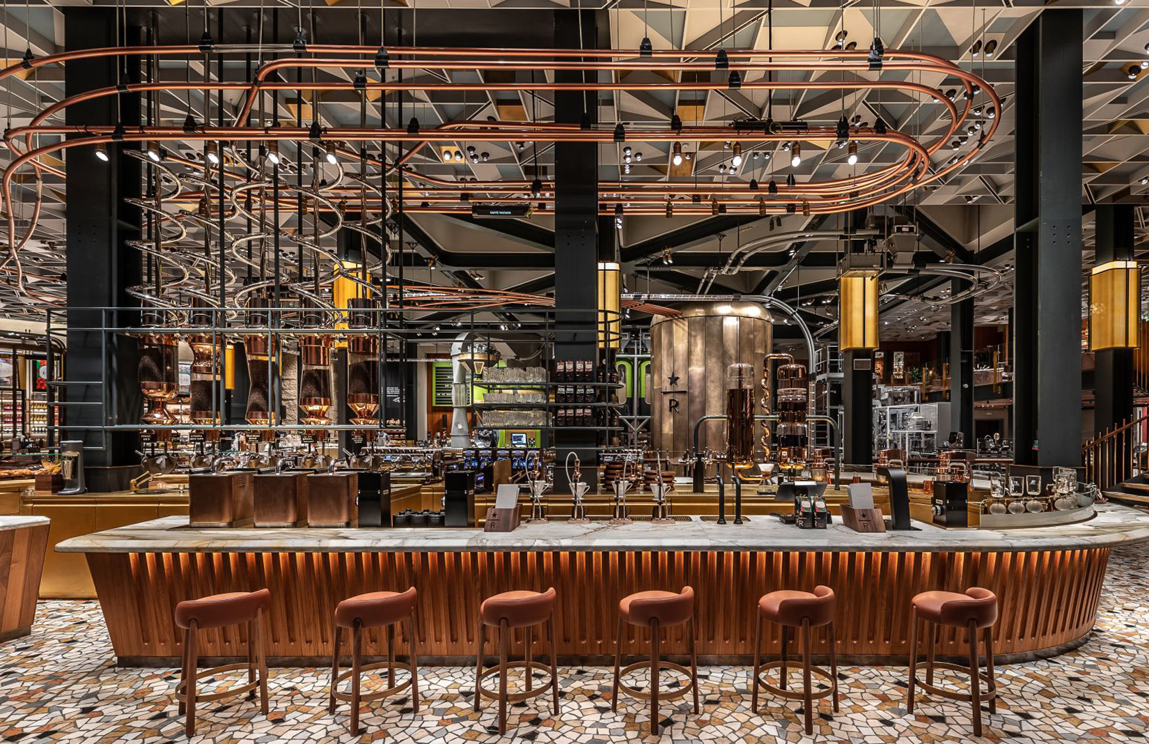 The Starbucks Reserve Roastery