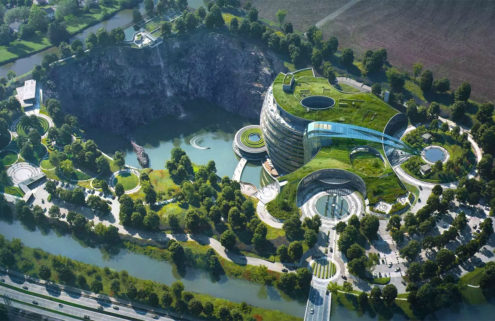 World's first underground hotel will open in a Shanghai quarry