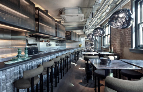 Tom Dixon's 'testbed' London restaurant the Coal Office opens