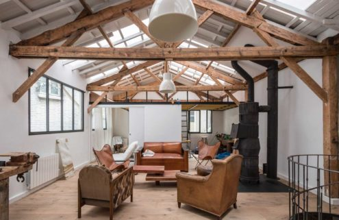 Converted carpenter's workshop hits the market in Paris for €1.47m