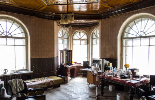 Inside the storied walls of St Petersburg's communal apartments