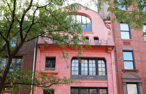 Pink Greenwich Village townhouse lists as $11m 'fixer-upper'