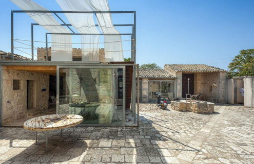 Holiday home of the week: a restored farmhouse on a Sicilian UNESCO site