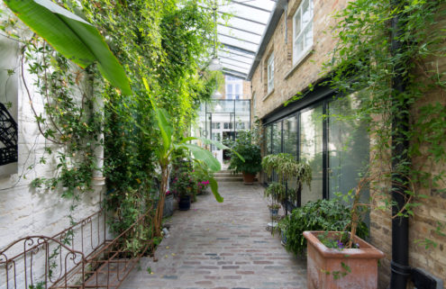 Plant-filled Notting Hill Mews hits the market for £11m