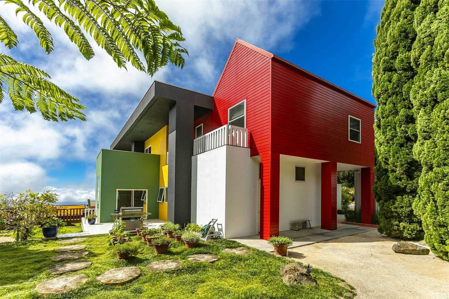 Ettore Sottsass' Casa Olabuenaga in Hawaii