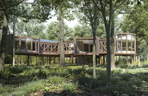 Treehouse-to-be lists for £1m in Gloucestershire