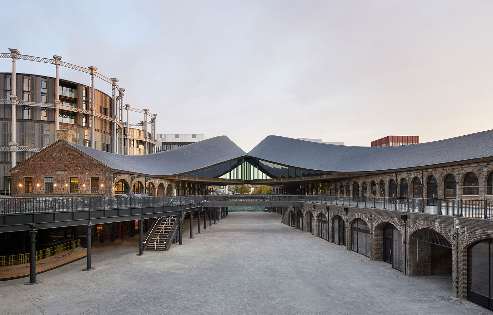 Adaptive reuse projects 2018: Coal Drops Yard, converted by Thomas Heatherwick