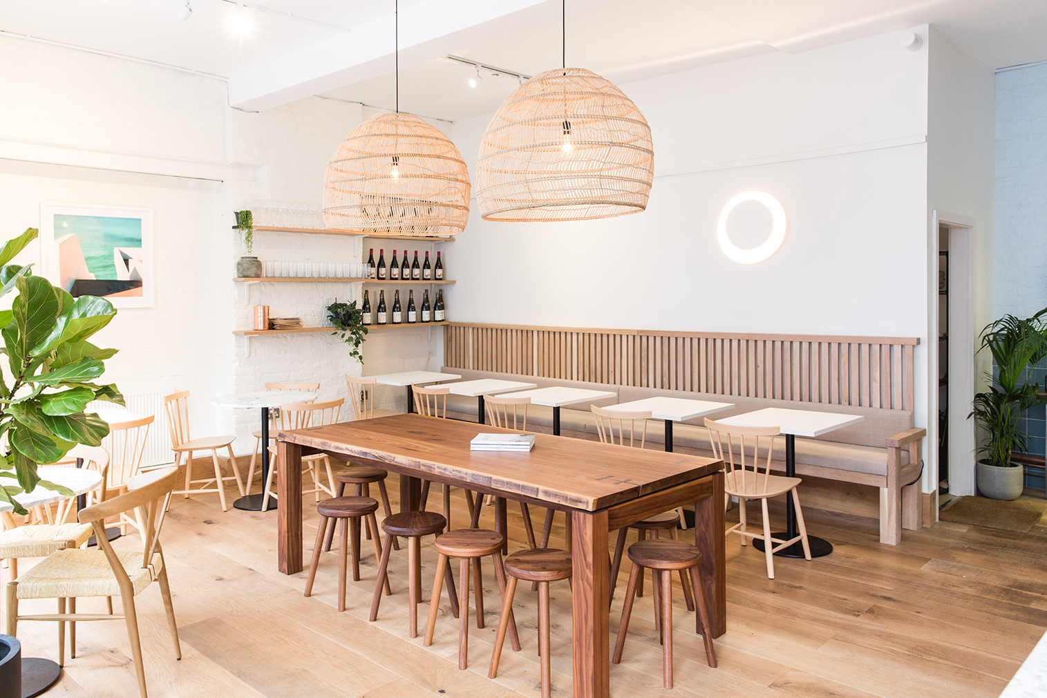 New London restaurants to visit this autumn -- Milk Beach