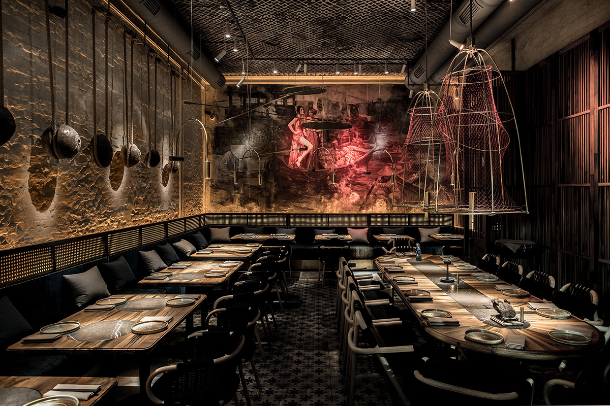 Kiev restaurant NĂM serves up modern Vietnamese cuisine in moody surrounds