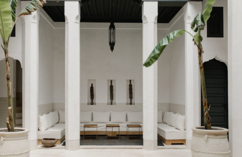 Holiday home of the week: a minimalist riad in Marrakech's Medina