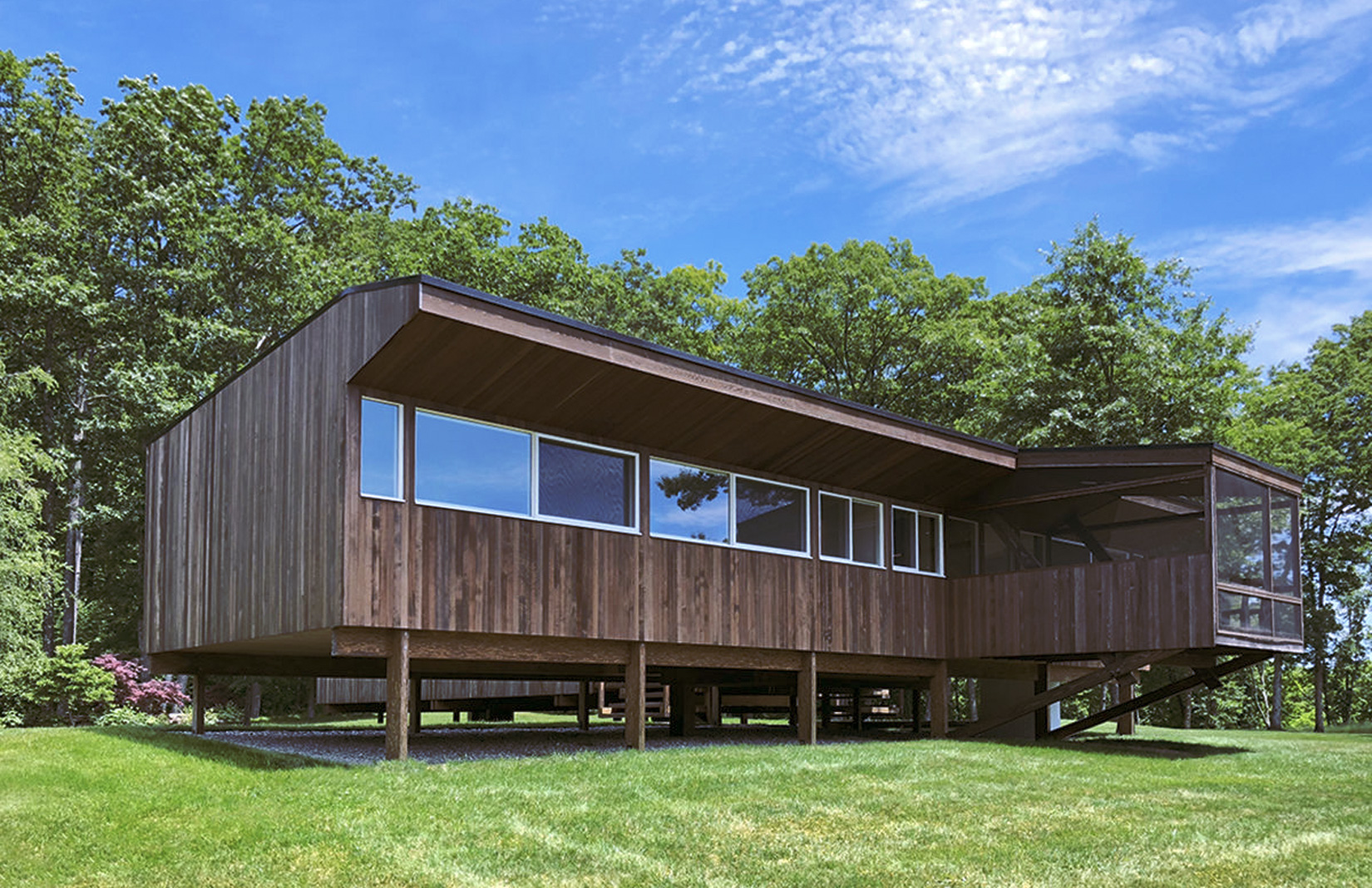 Rufus Stillman Cottage by Marcel Breuer