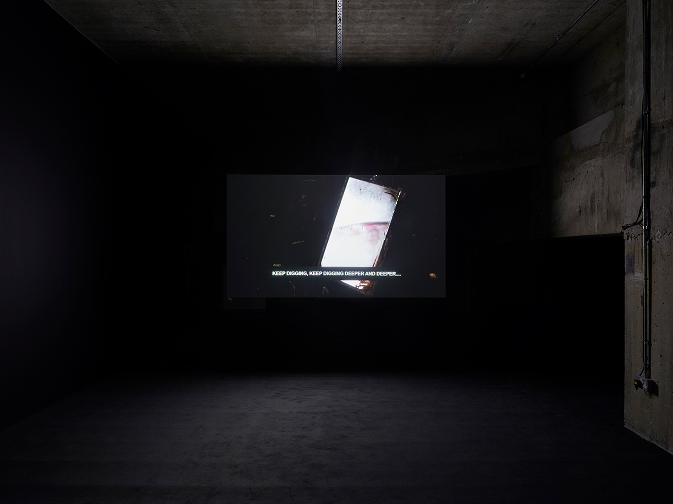 Laure Prouvost's artwork 'Into All That Is Here'